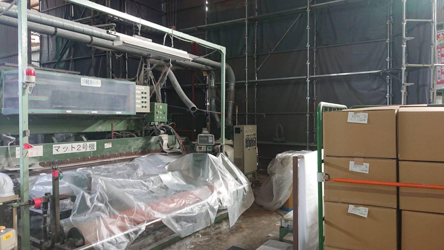 関市 某会社様工場内改修工事
